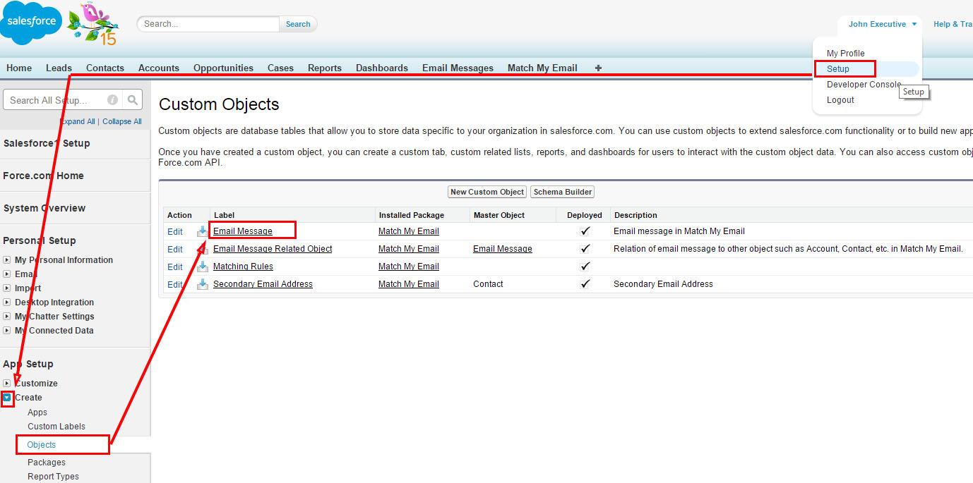 Add Delete to EM Global Search layout nav setup to EM