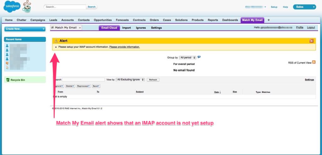 Setup IMAP 02
